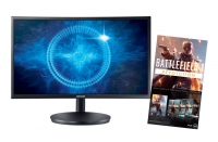 "Samsung C24FG70FQU 23.5"" Curved Monitor + BF1 PACK"