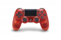 Sony Dualshock Controller V2 - Red Crystal (PS4)