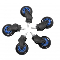AKRACING Rollerblade Casters - Blue