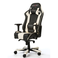 DXRacer KING Gaming Chair (White/Black) - OH/KS06/NW