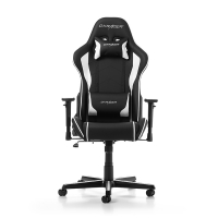 DXRacer Formula Gaming Chair (Black/White) - OH/FH08/NW