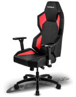 Quersus GEOS 702 Gaming Chair (Black/Red)