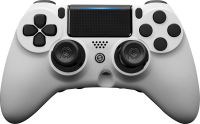 Scuf Gaming Impact Soft Touch White (PS4) + FULL KIT