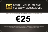 Gamegear Giftcard €25