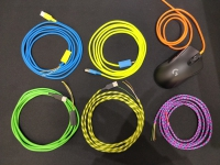GG Modz custom USB cable (3M charge and 2M mouse)