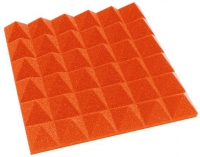 Gamegear Studiofoam Pyramid paneel 49x49cm Orange