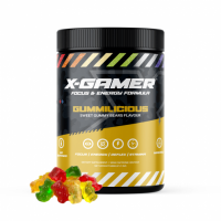 X-Gamer Gummilicious Flavour Energy Drink - 60 Serving