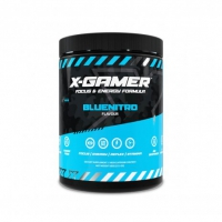 X-Gamer Blue Nitro Flavour Energy Drink - 60 Serving
