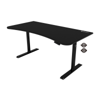Arozzi Arena Moto Gaming Desk Black (160 x 82 cm)