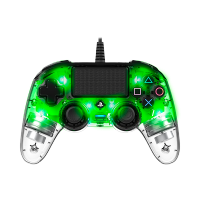 Nacon Wired Compact LED Controller (PS4/PC) (Green)